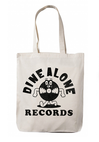 Dine Alone - Record Tote Bag