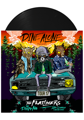 Dine Alone Presents - 2017 Tour Vinyl (Teal LP)