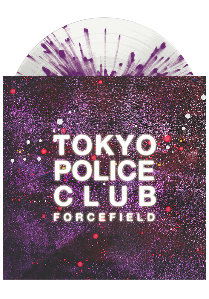 Forcefield (Clear w/ Purple Splatter LP)-Tokyo Police Club-Dine Alone Records