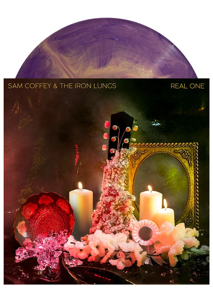 Real One (Purple / Gold Marble LP)-Sam Coffey & The Iron Lungs-Dine Alone Records