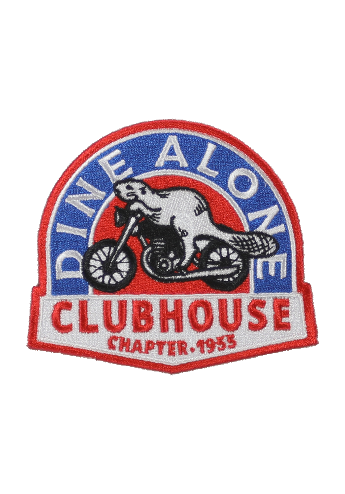 Dine Alone - Clubhouse Patch
