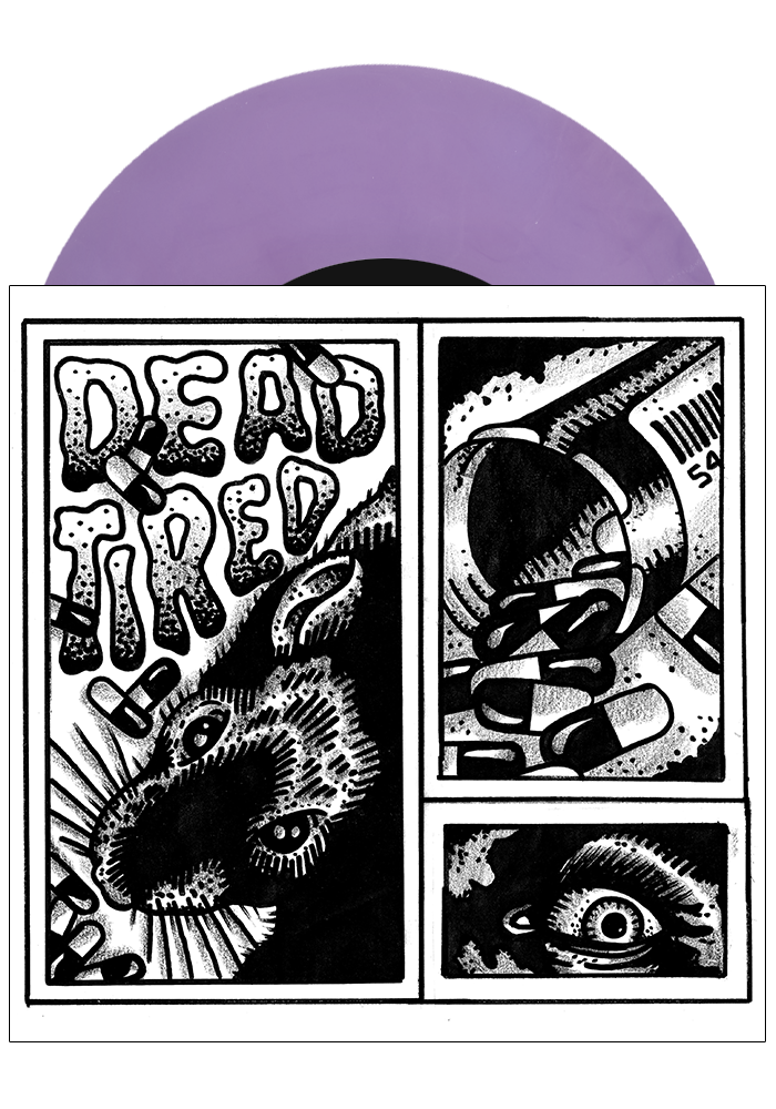 "DEAD TIRED - Vol. One (Mixed Colour 7"") - New Damage Records"