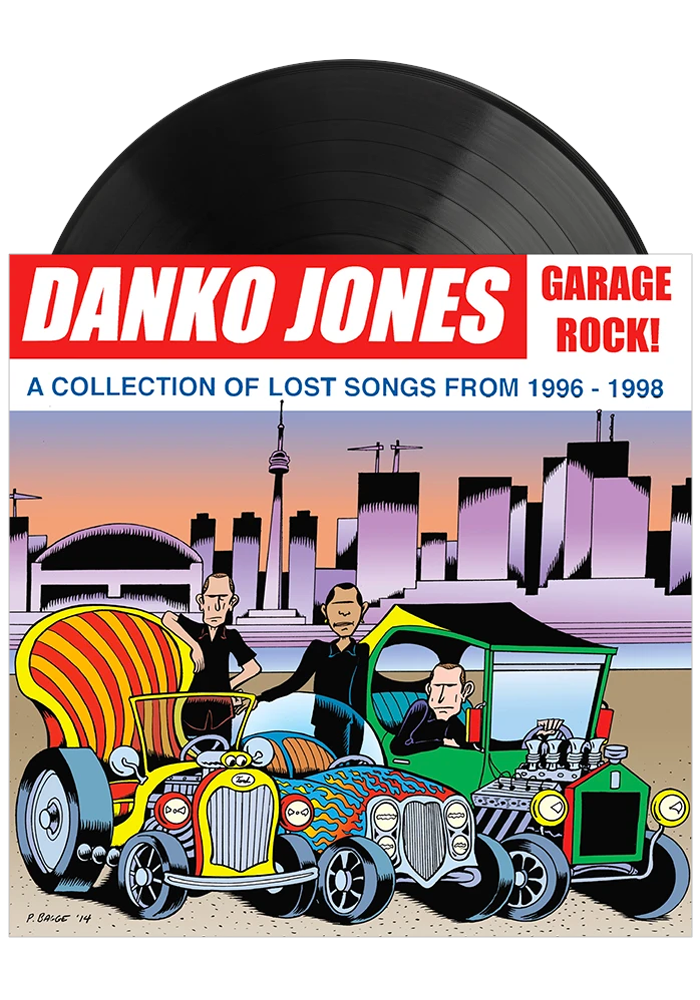Danko Jones - Garage Rock (LP)
