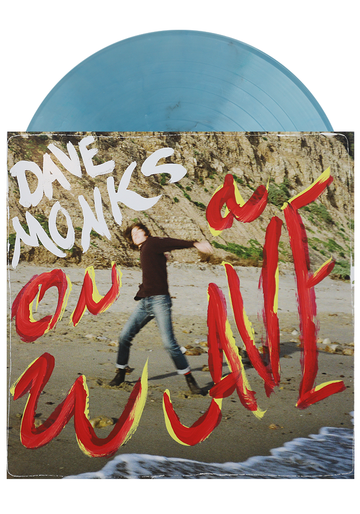 Dave Monks - On A Wave (Hand Painted LP)
