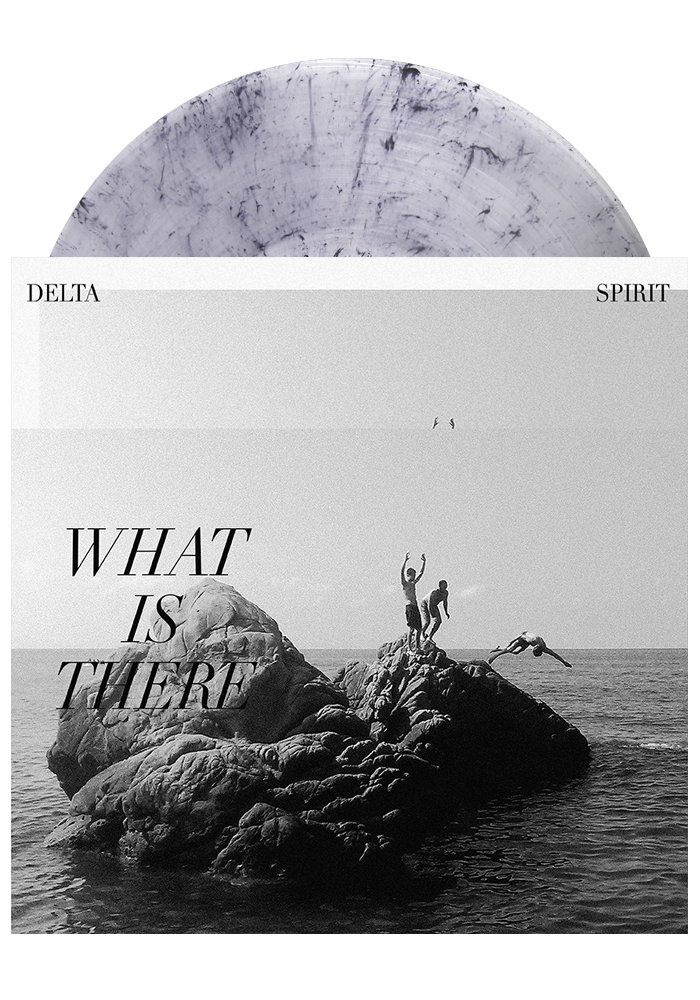 Delta Spirit - What Is There (Clear w/ Black Marble LP)