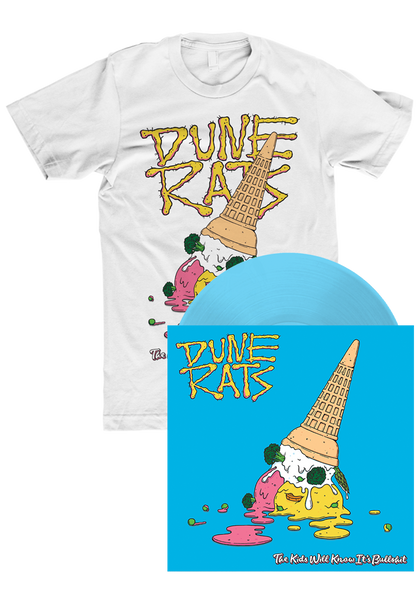 Dune Rats - The Kids Will Know It's Bullshit (LP) + T-Shirt
