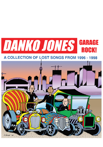 DANKO JONES - Garage Rock (CD) - New Damage Records