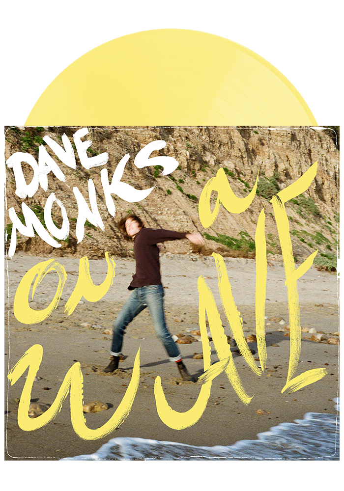 On A Wave (Pale Yellow LP)-Dave Monks-Dine Alone Records