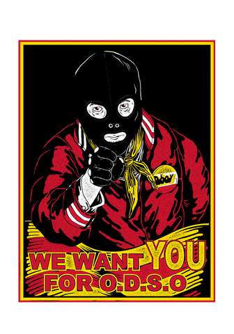 Dboy - We Want You For O.D.S.O Poster