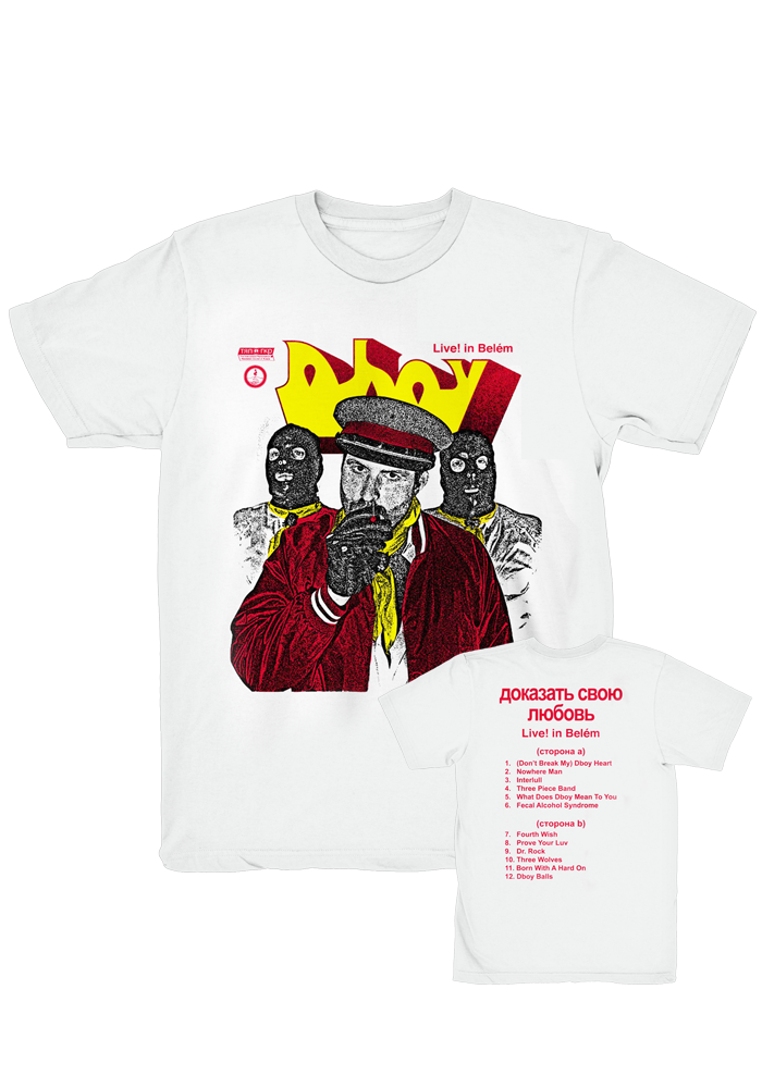Dboy - Live in Belém T-Shirt