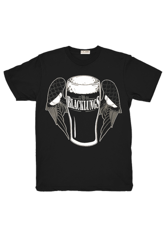 Black Lungs - Beer T-Shirt