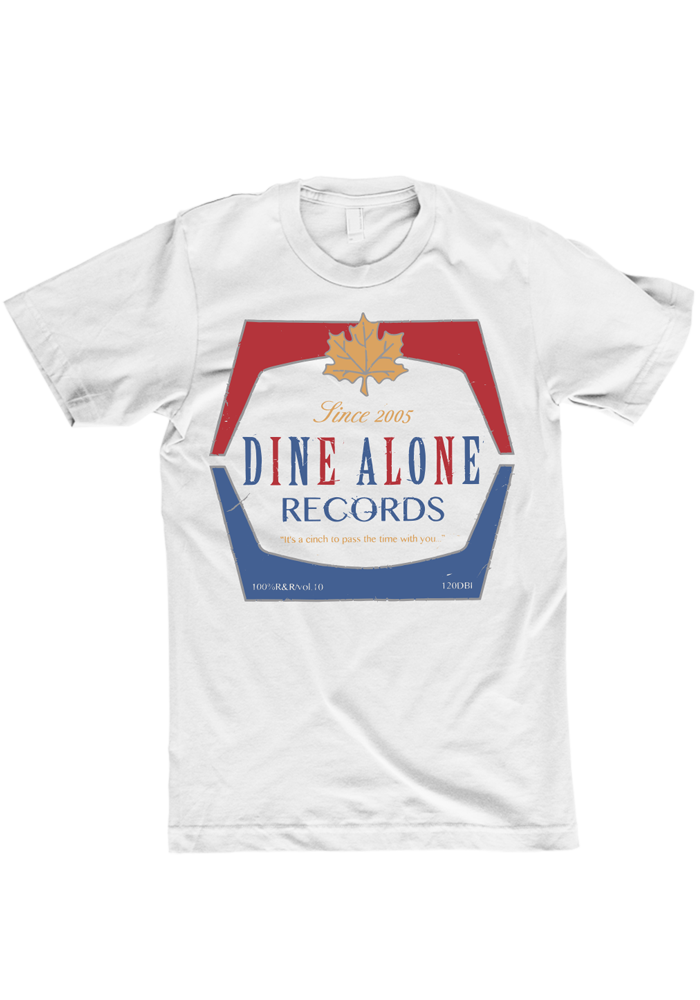 Dine Alone - Maple Leaf T-Shirt
