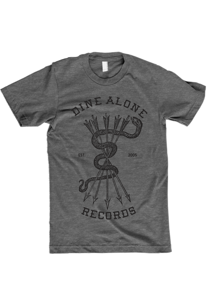 Dine Alone - Snake T-Shirt (Athletic Grey)