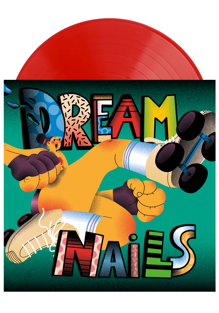 Dream Nails - Dream Nails (Red LP)