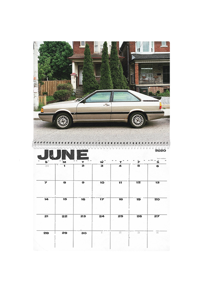 Girlfriend Material - Cool Cars Calendar 2020