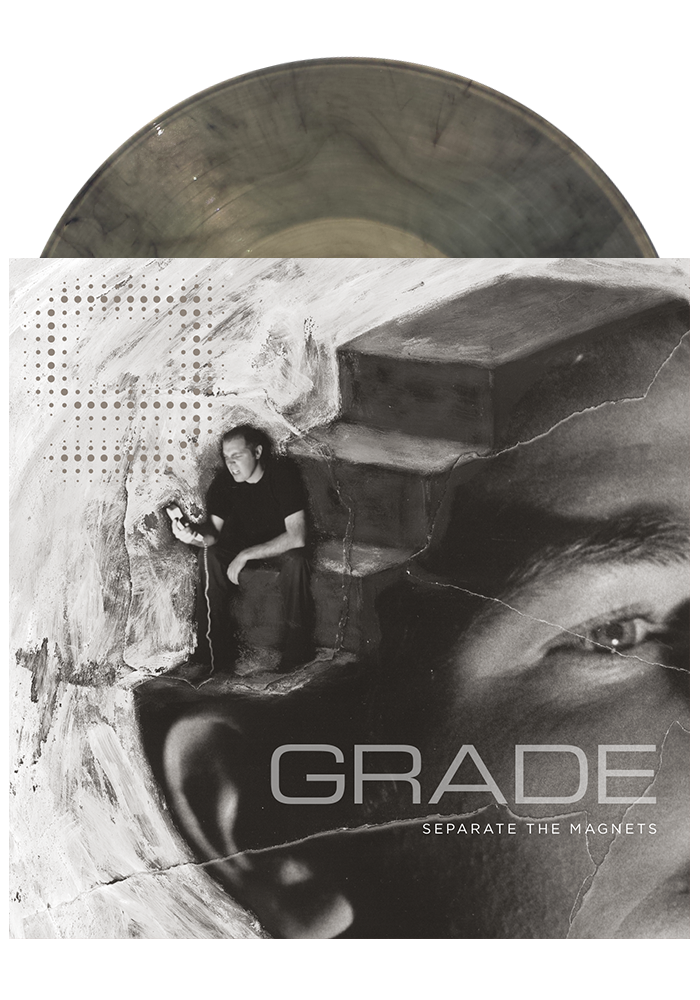 Grade - Separate The Magnets (Clear w/ Black Smoke LP)