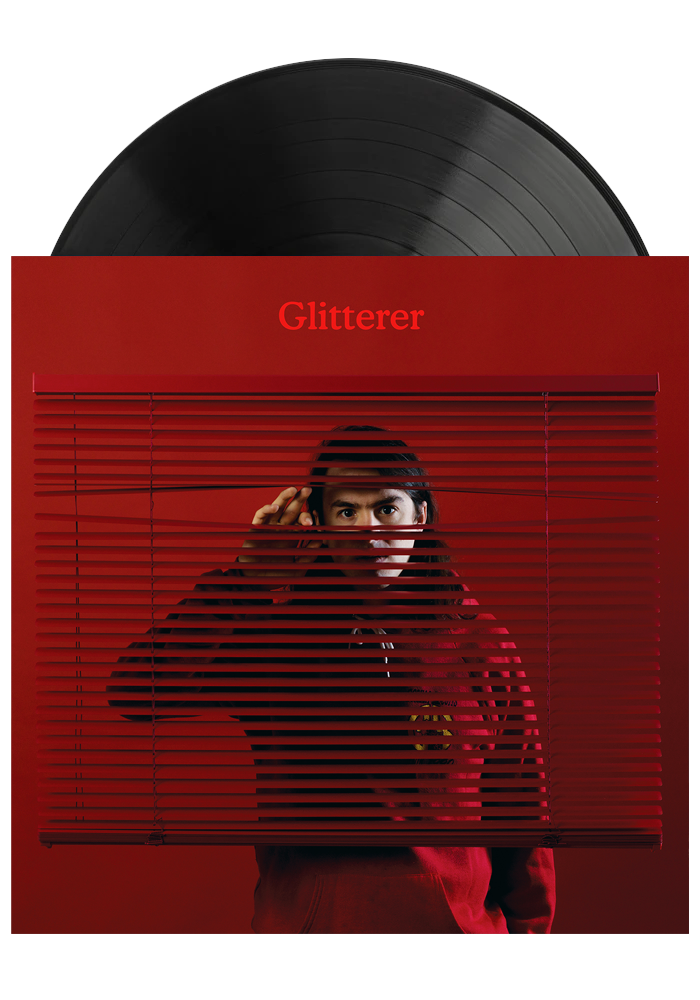 Glitterer ‎– Looking Through The Shades (LP)
