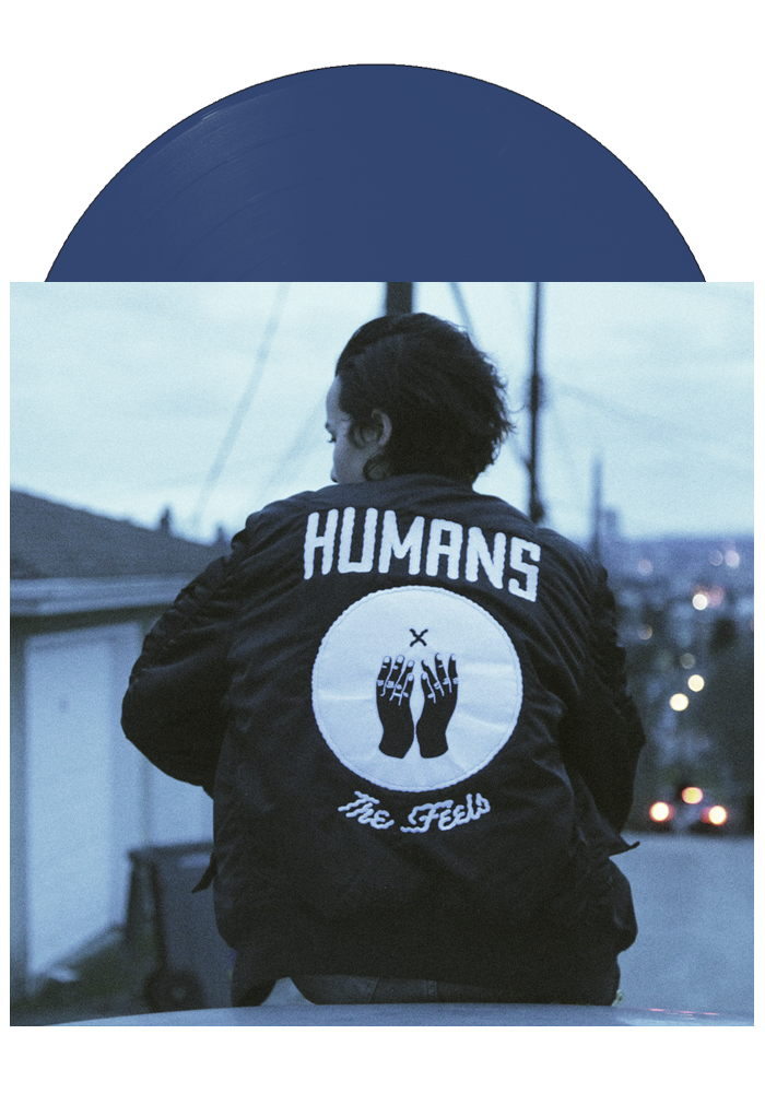 The Feels EP (Blue LP)-Humans-Dine Alone Records