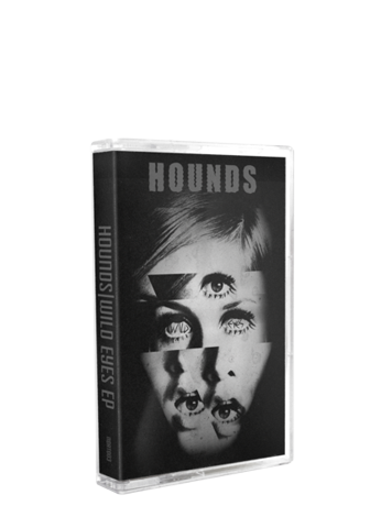 HOUNDS - Wild Eyes (Tape) - New Damage Records