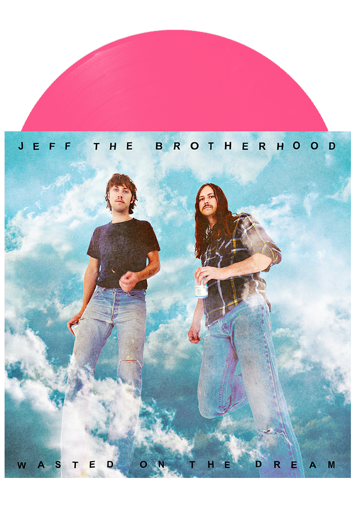 Wasted on the Dream (Pink LP)-JEFF The Brotherhood-Dine Alone Records