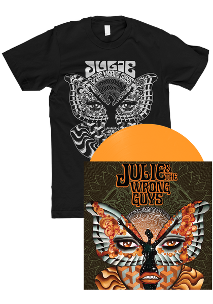 Julie & The Wrong Guys - Julie & The Wrong Guys (LP) + T-Shirt