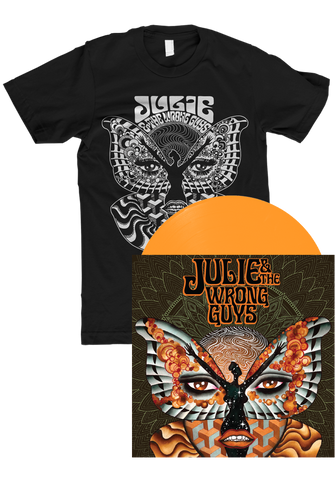 Julie & The Wrong Guys (LP) + T-Shirt