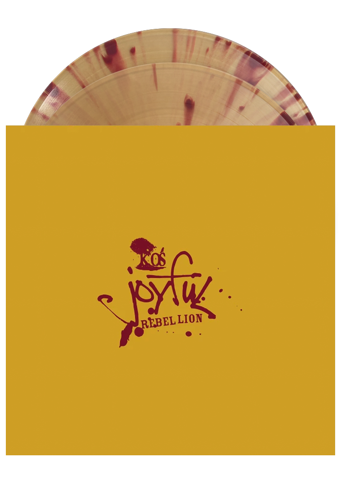 k-os - Joyful Rebellion (Translucent Yellow w/ Oxblood Splatter 2LP)