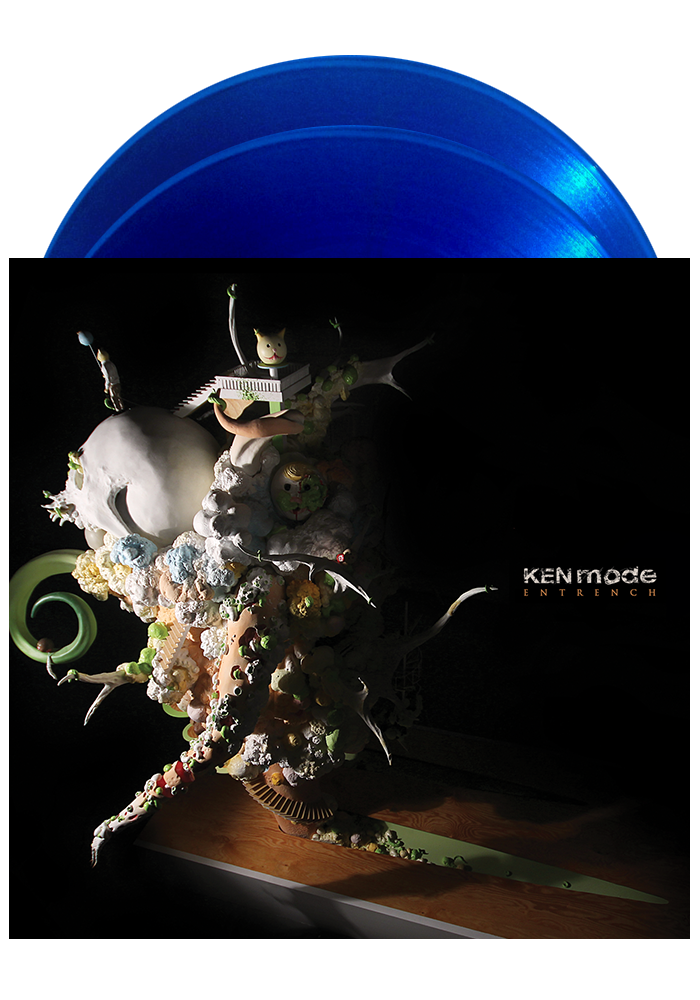 KEN MODE - Entrench (Translucent Blue LP) - New Damage Records