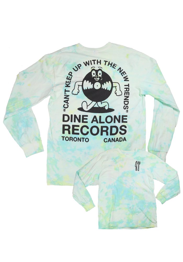 Dine Alone - Can't Keep Up Tie-Dye Long Sleeve Shirt