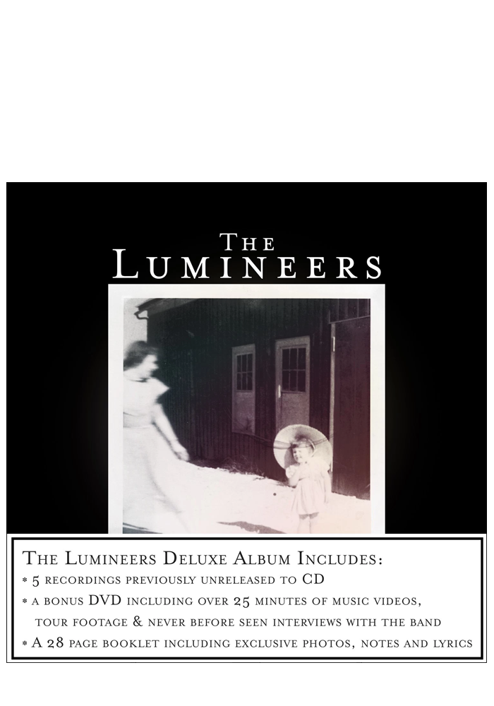 The Lumineers (Deluxe Editon CD+DVD)-The Lumineers-Dine Alone Records