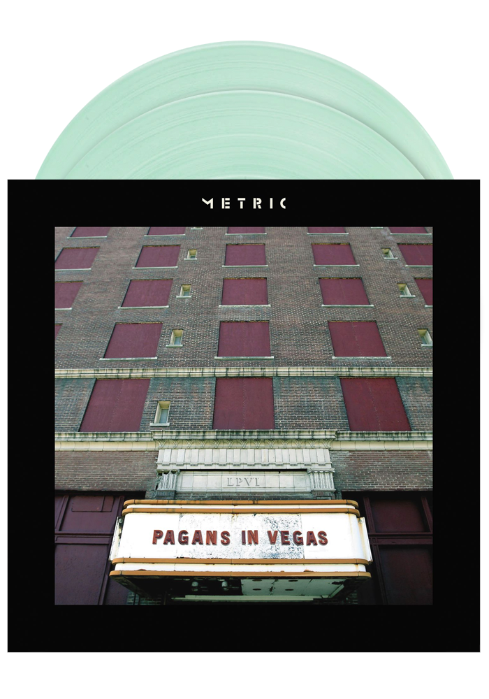 Metric - Pagans In Vegas (Coke Bottle Clear 2LP)
