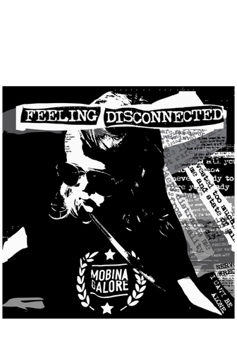 MOBINA GALORE - Feeling Disconnected (CD) - New Damage Records