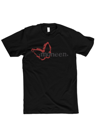 Moneen - Burning Moth T-Shirt