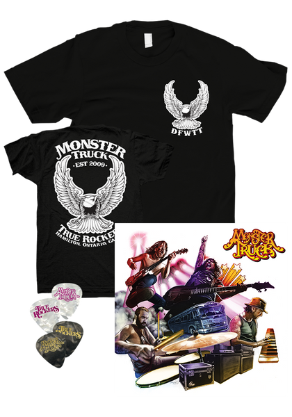 Monster Truck - True Rockers (CD) + T-Shirt & Picks