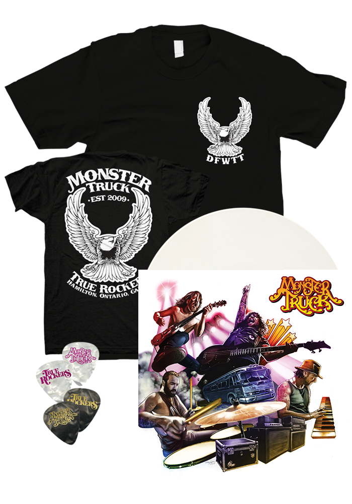 Monster Truck - True Rockers (LP) + T-Shirt & Picks
