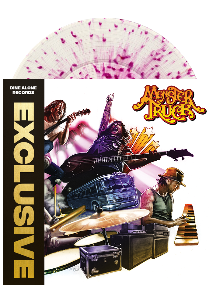 Monster Truck - True Rockers (Splatter LP)
