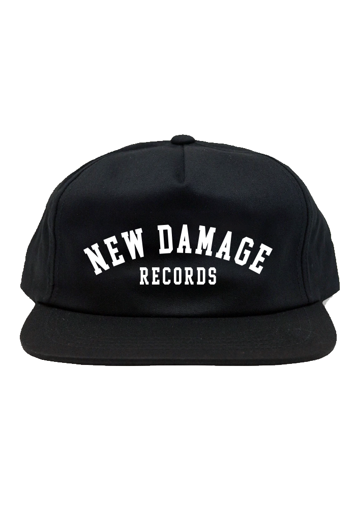 New Damage Records - College Snapback Hat