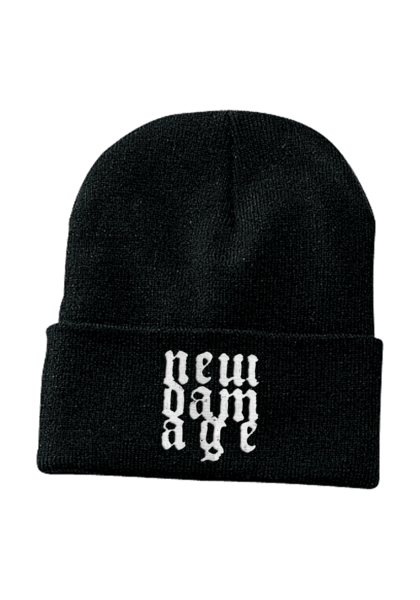 New Damage Records - Logo Toque (Black)