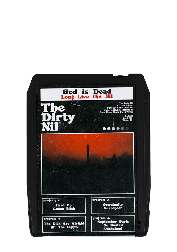 The Dirty Nil - You're Welcome (Black 8 Track)