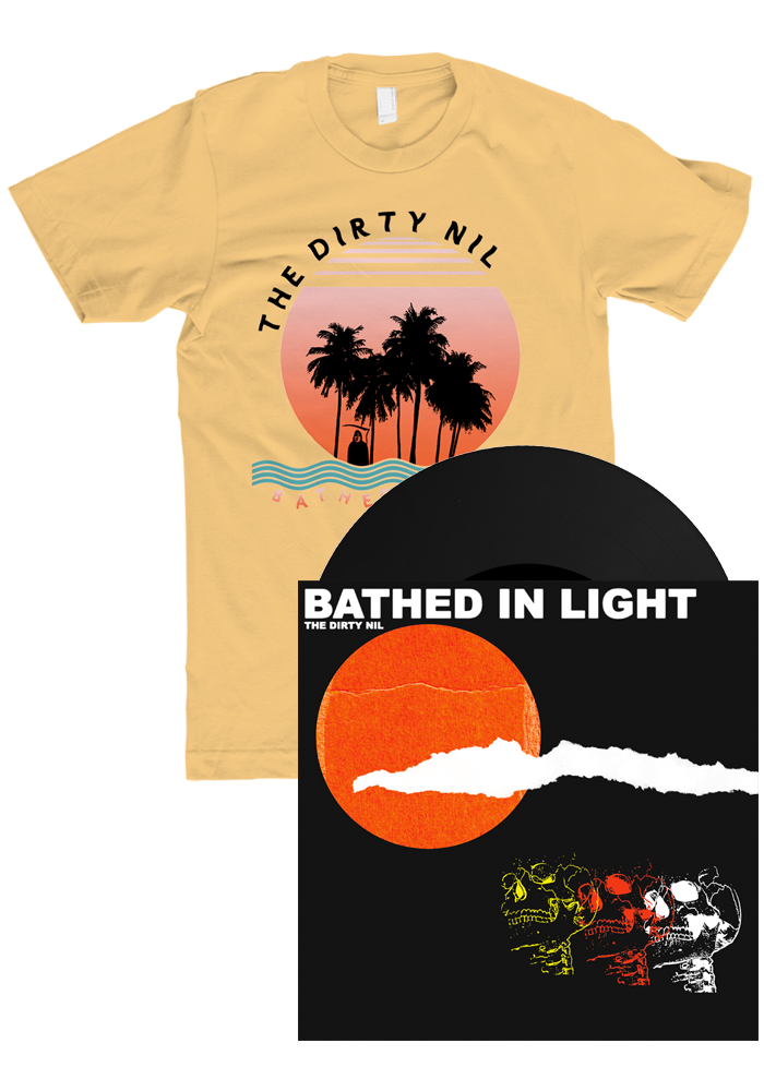 "The Dirty Nil - Bathed In Light (7"") + T-Shirt"