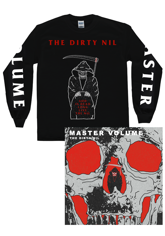 The Dirty Nil - Master Volume (CD) + Long Sleeve