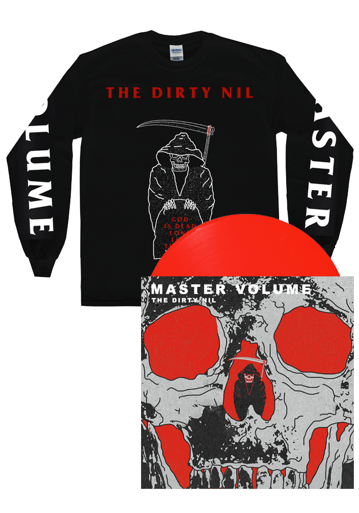 The Dirty Nil - Master Volume (LP) + Long Sleeve