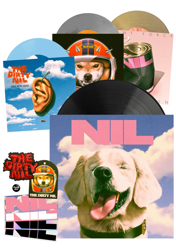 The Dirty Nil - Fuck Art (Vinyl Bundle) [PRE-ORDER]
