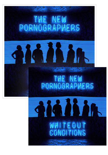 The New Pornographers - Whiteout Conditions (CD Bundle)