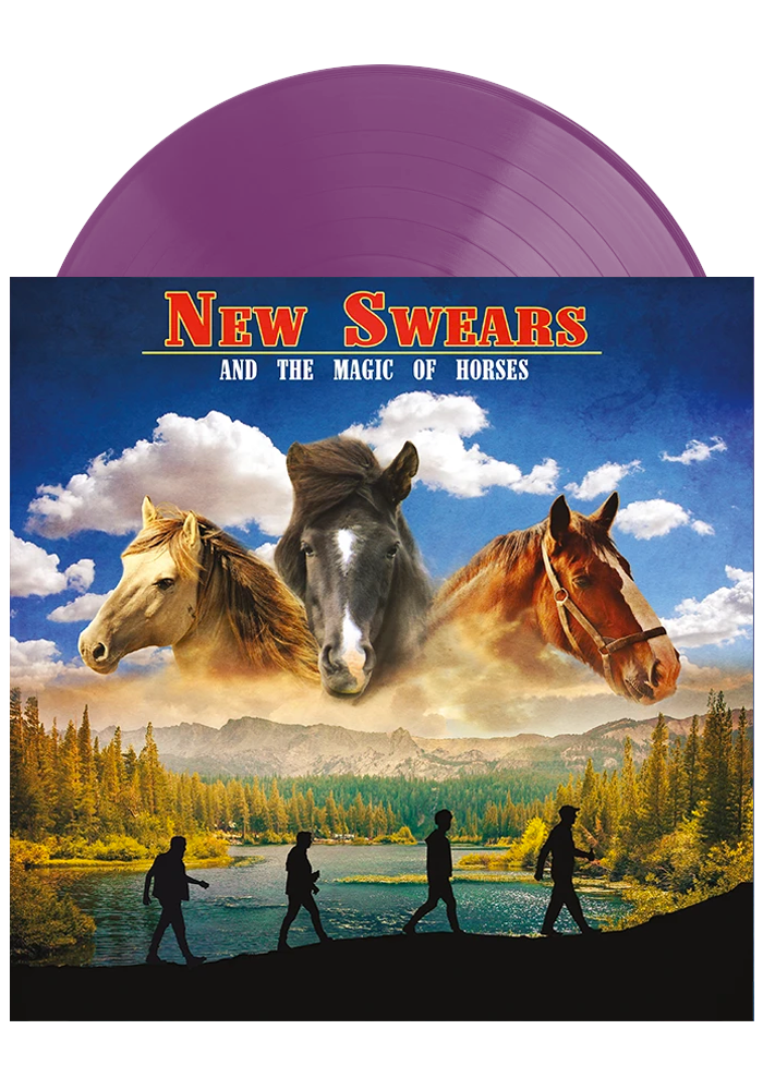 New Swears - And The Magic Of Horses (Purple LP)
