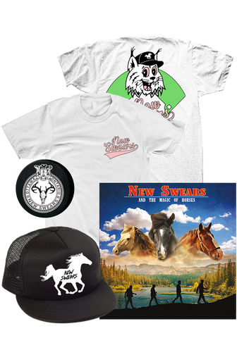 New Swears - And The Magic Of Horses (CD Bundle)