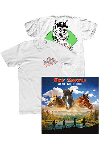 New Swears - And The Magic Of Horses (CD + Shirt)