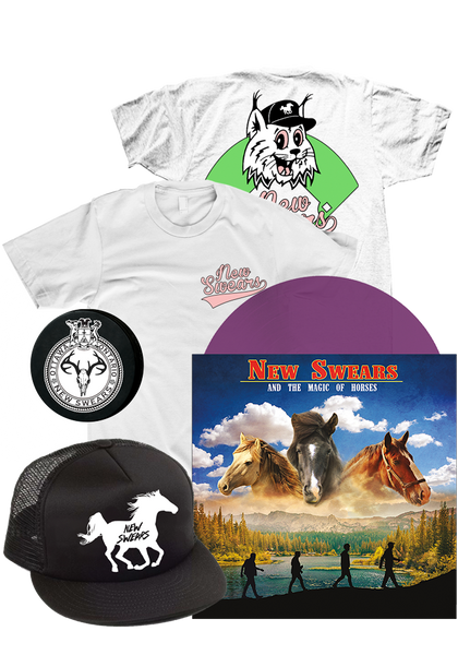 New Swears - And The Magic Of Horses (LP Bundle)