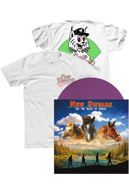 New Swears - And The Magic Of Horses (LP + Shirt)