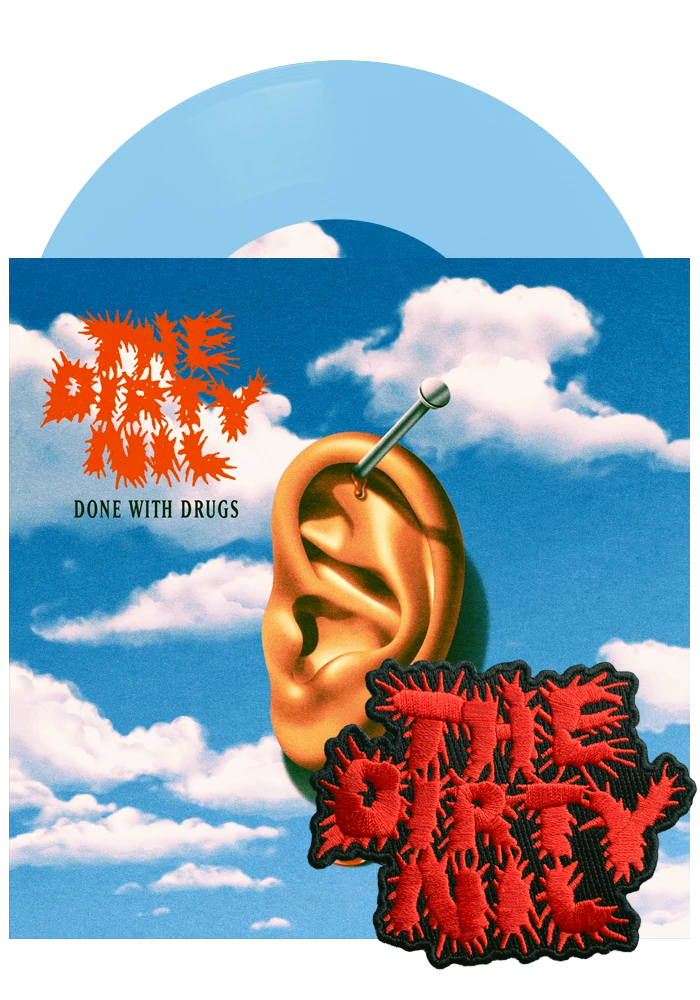 "Done With Drugs (Baby Blue 7"")-The Dirty Nil-Dine Alone Records"